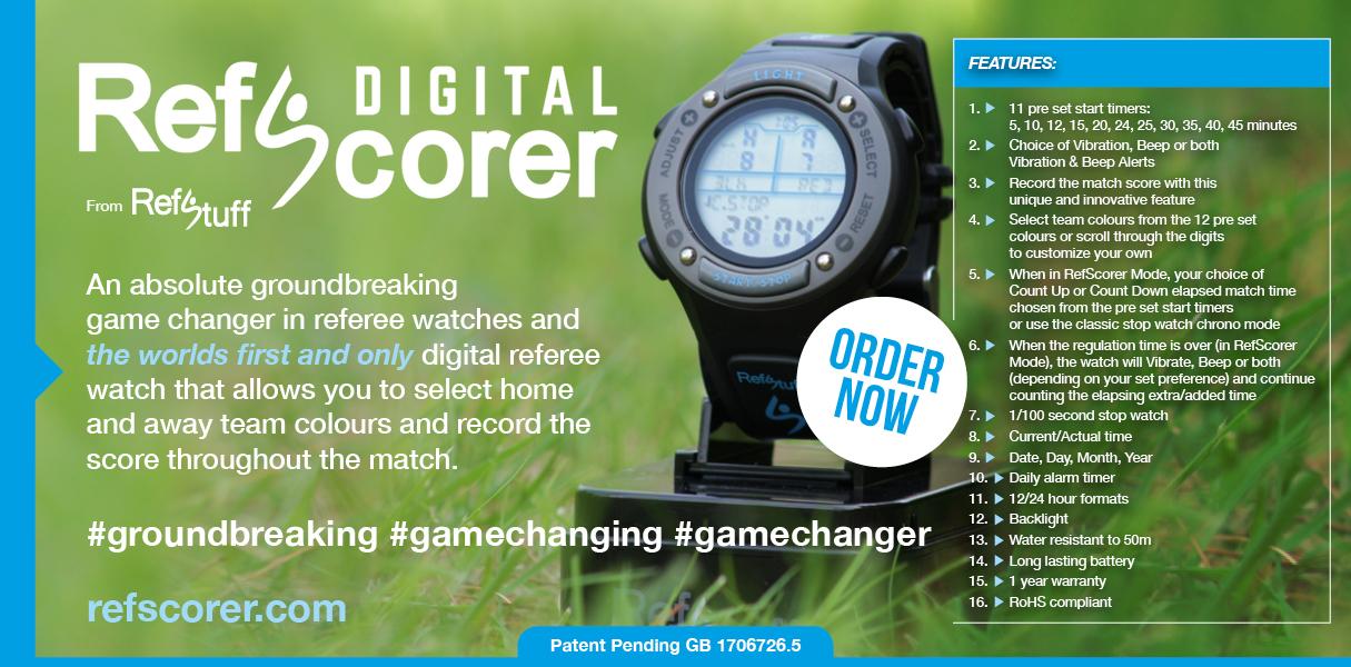 RefScorer Digital Watch